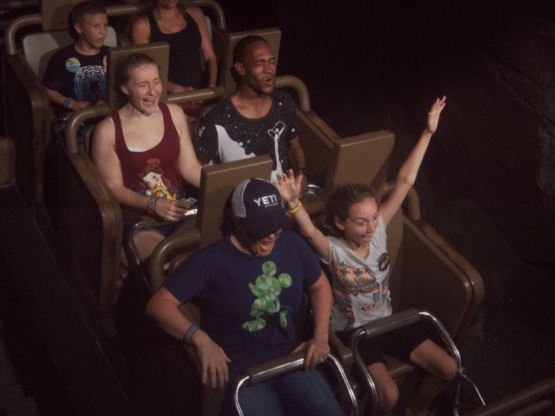 ride photo from expedition Everest