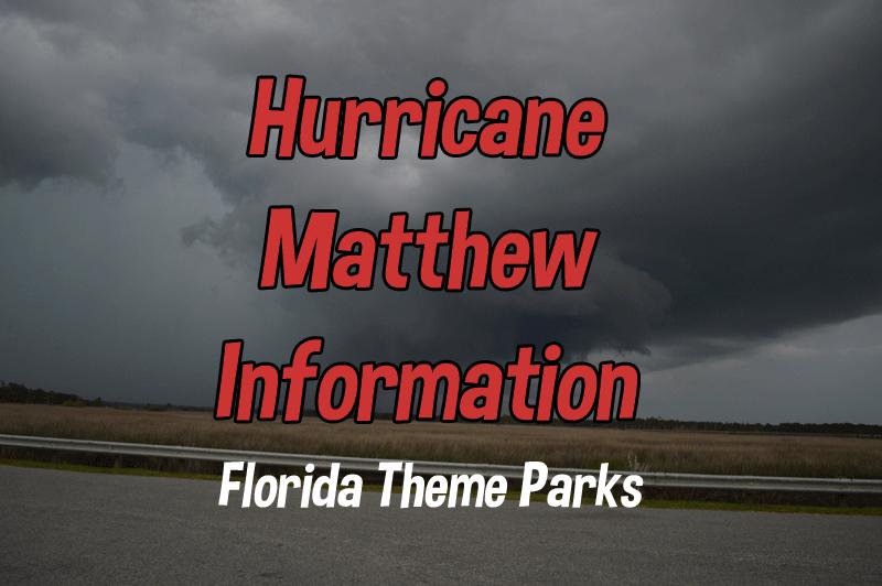 Hurricane Matthew Information