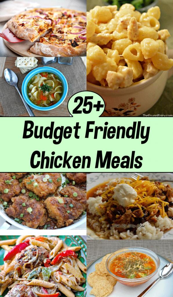 budget friendly chicken meals