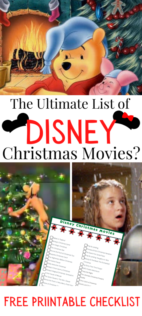 Ultimate List of Disney Christmas Movies with Pooh, Pluto