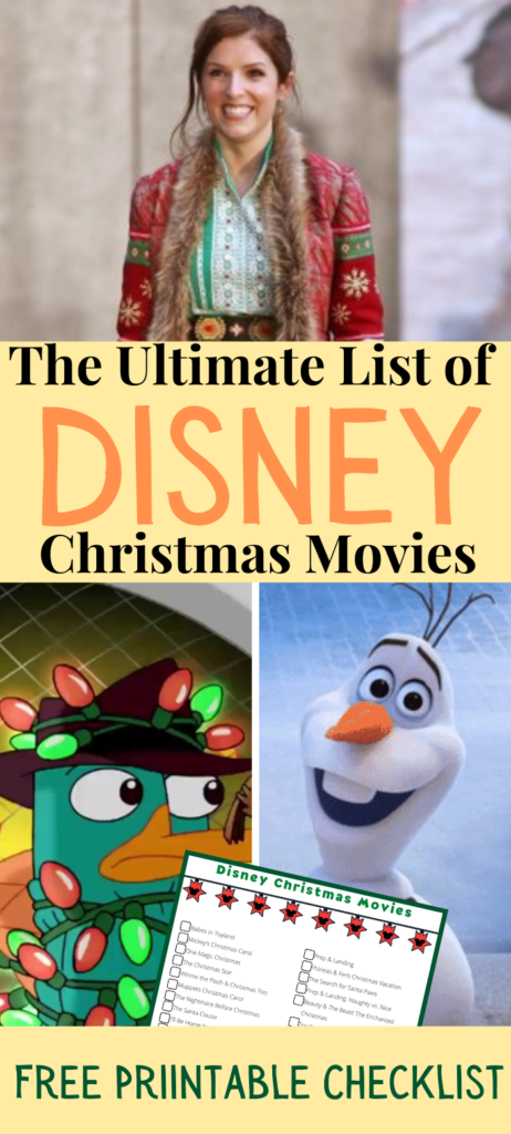 Disney Christmas Movies with Noelle, Olaf, Perry