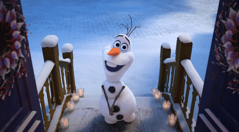 Olaf's Frozen Adventure Disney Christmas Movies