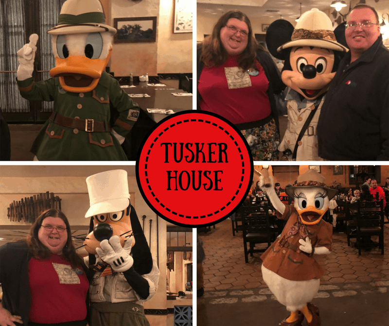 Tusker House Characters