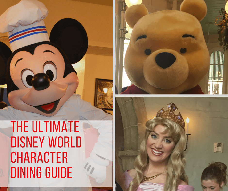 Walt Disney World Character Dining Guide