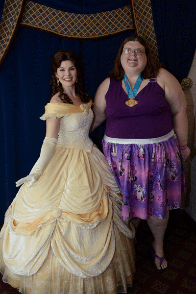 Princess Belle at Akershus