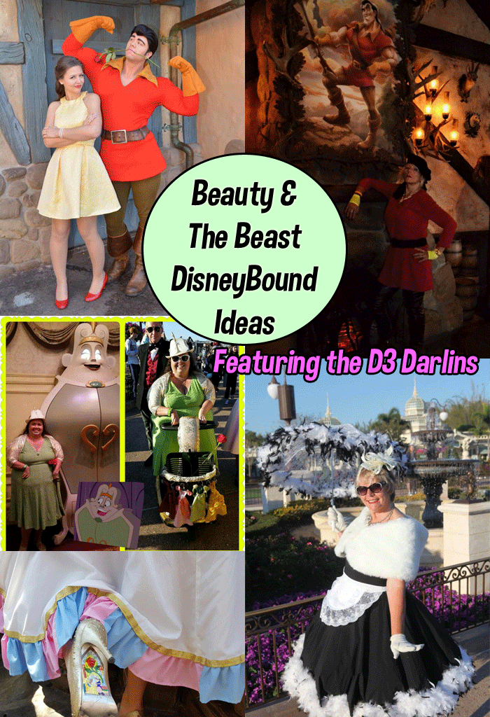 Beauty and the Beast Dapper Disneybound