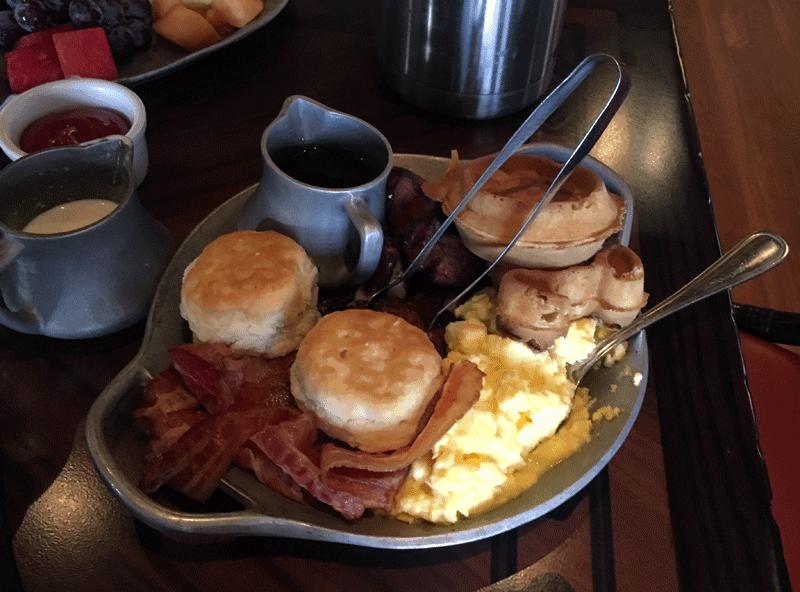 Ohana Breakfast platter all you care to eat