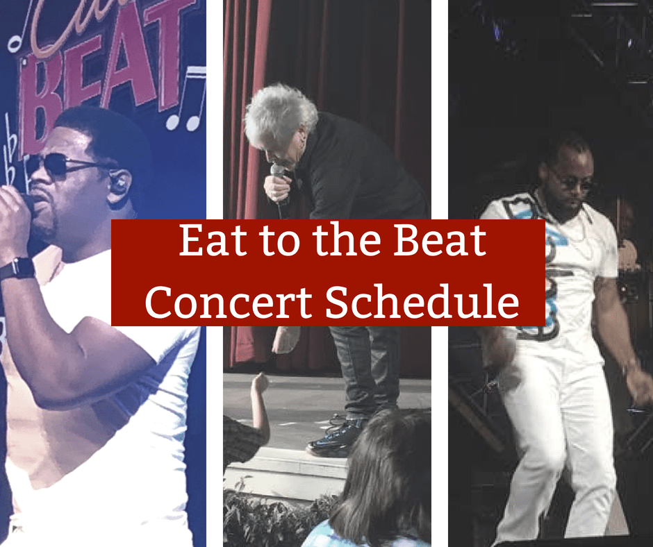 2019 Eat to the Beat Concert Schedule | Epcot Food & Wine