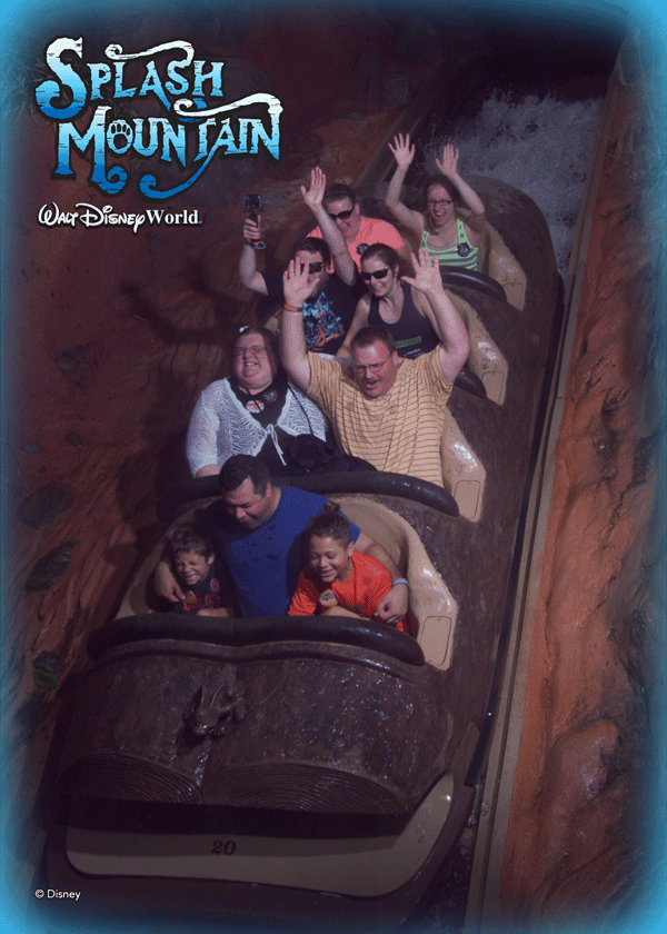 Disney world Memory maker- ride photo