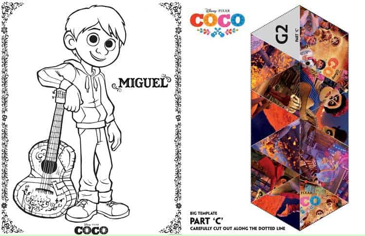 Free Coco Printable Activity Pages