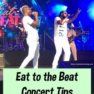 Eat to the Beat Concert Tips at Epcot's International Food & Wine Festival