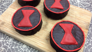 Marvel's Black Widow Inspired Treats