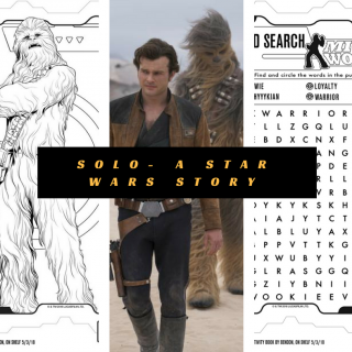 Solo: A Star Wars Story Printable Activity Pages