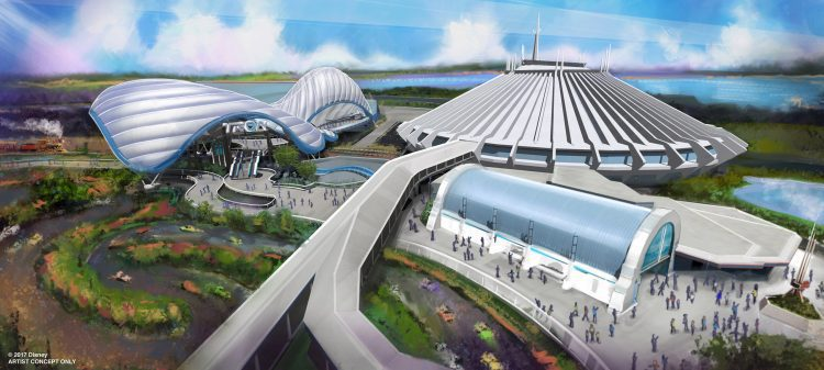 Tomorrowland Attractions Tron Coaster