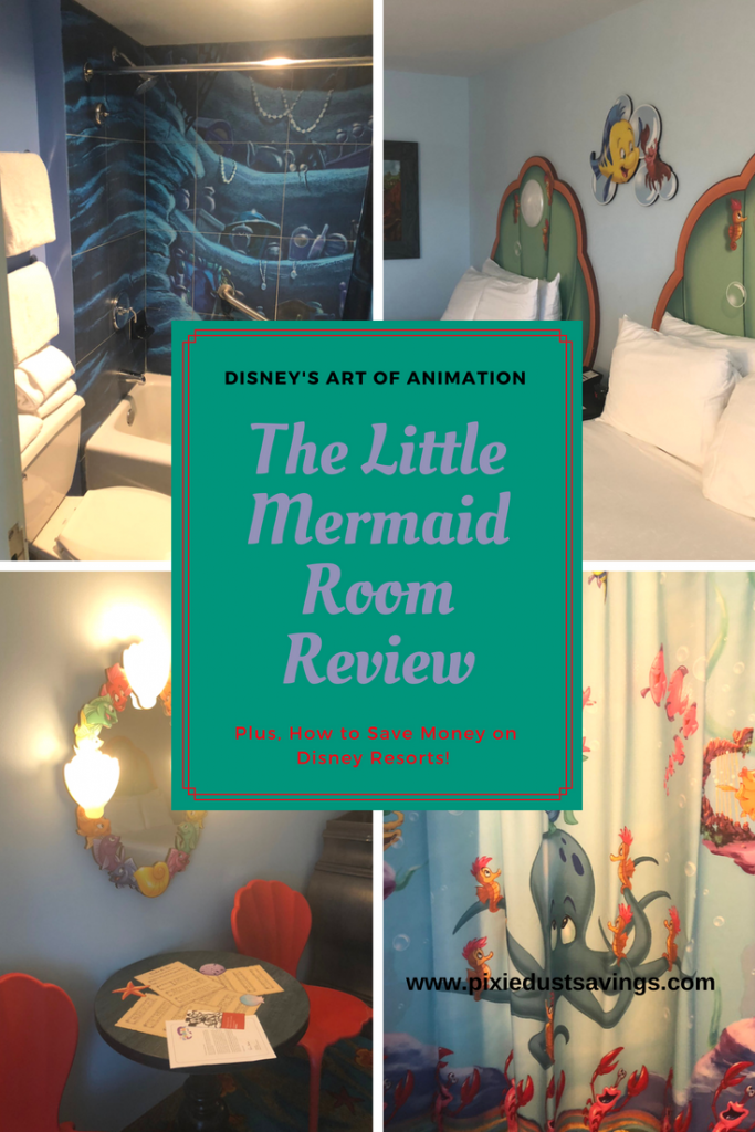Art of Animation Resort Review Little Mermaid Rooms