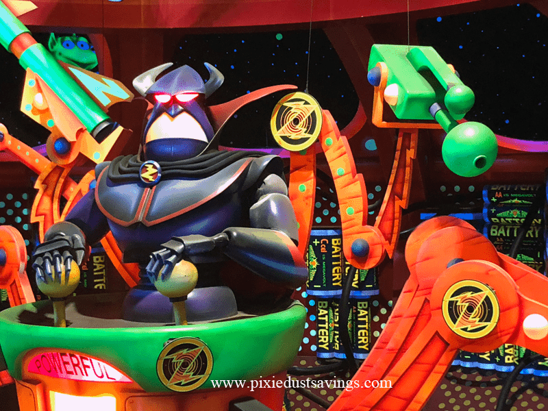 Zurg from Buzz Lightyear Ranger Spin