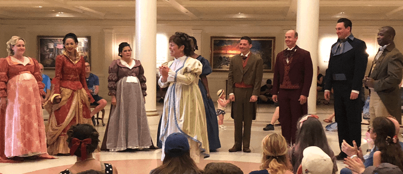 Disney's American Pavilion - Voices of Liberty