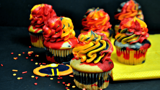 Disney Incredibles Inspired Cupcakes