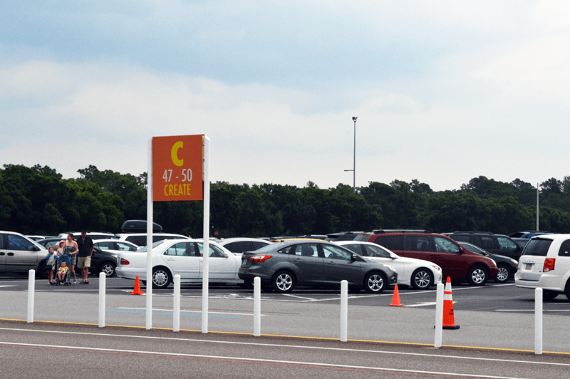 Disney World Parking