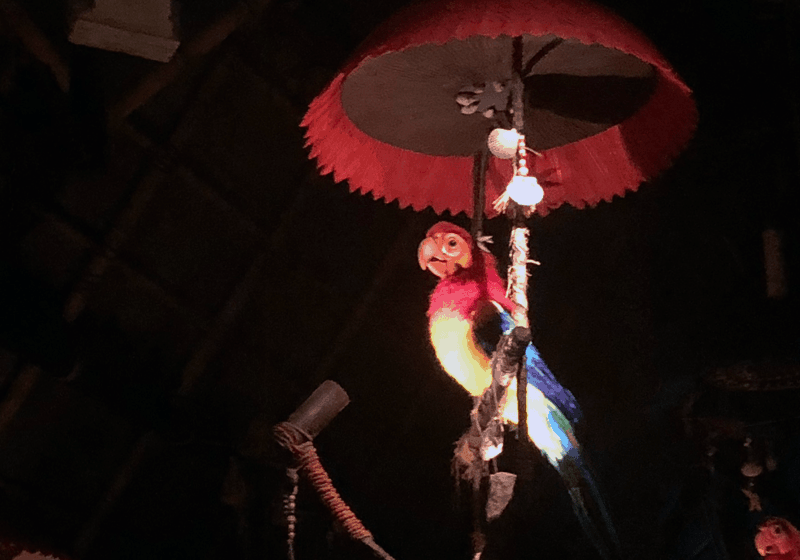 Enchanted Tiki Room Bird