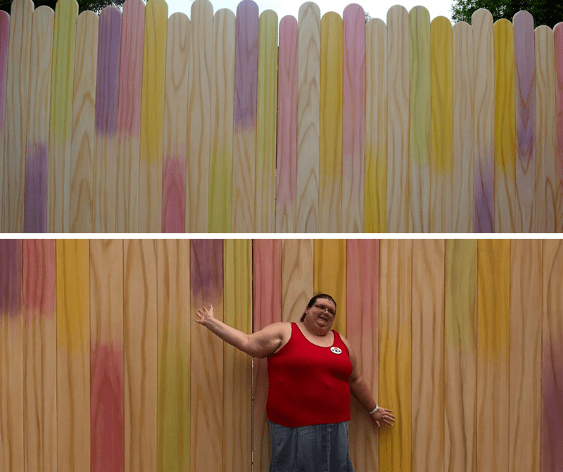 Toy Story Land Instagram Popsicle Wall