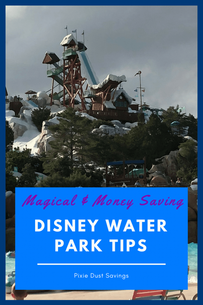 Disney World Water Park Tips