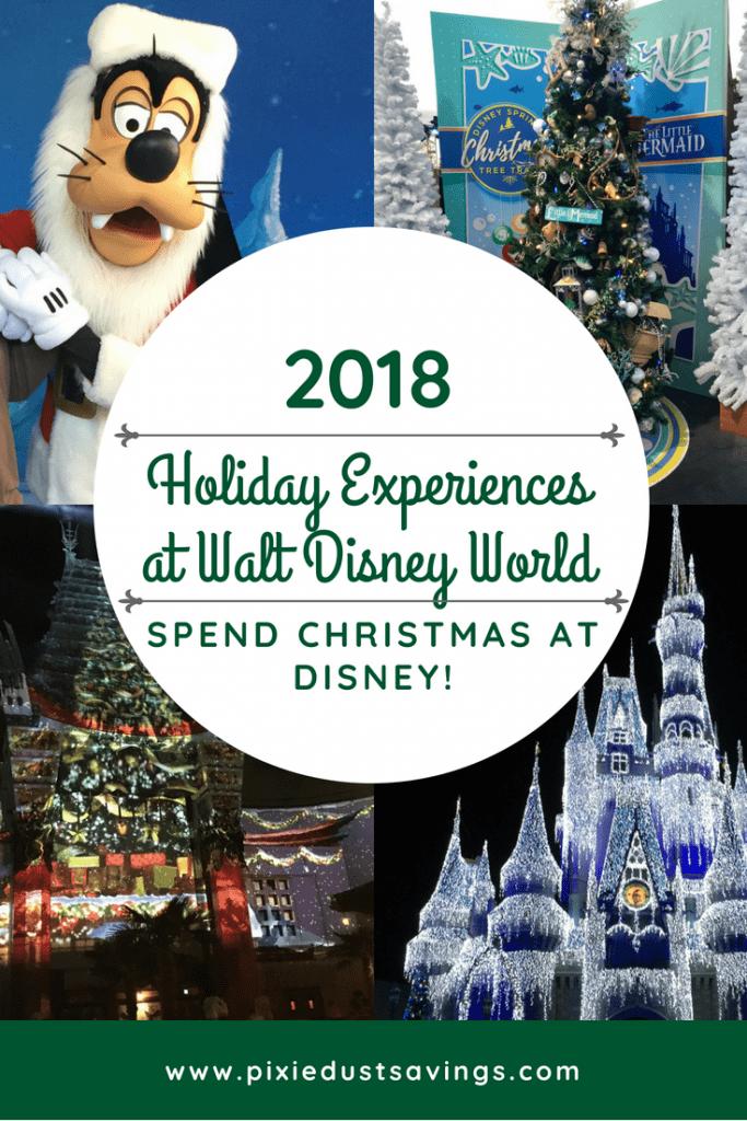Holiday Experiences at Disney World