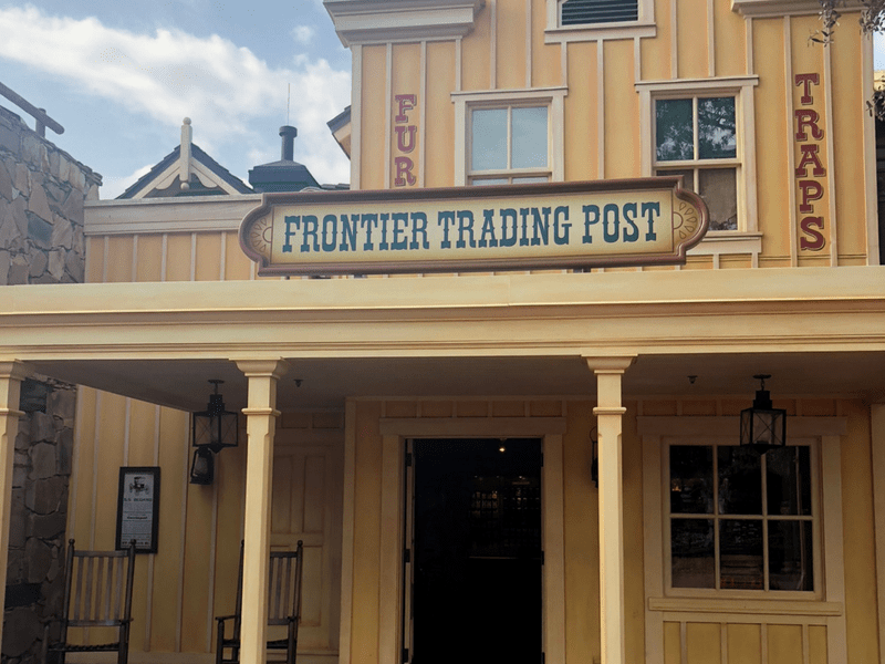 Disney World Frontierland Trading Post