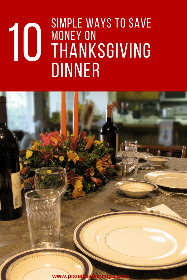 10 Simple Ways to Save Money on Thanksgiving Dinner