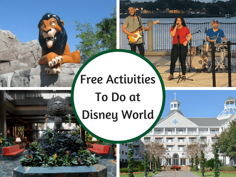 Free Activities To Do at Disney World