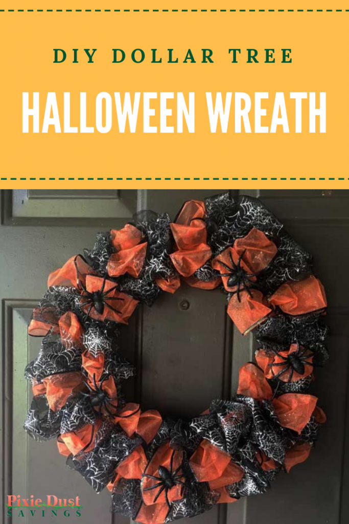 Diy Dollar Tree Halloween Wreath
