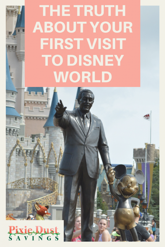 Truth About Your First Visit to Disney World