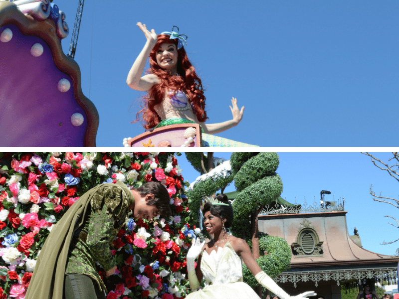 Festival of Fantasy Parade Best Viewing Spots