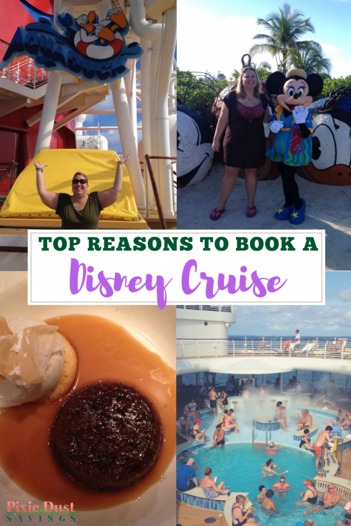 reasons to book a Disney cruise