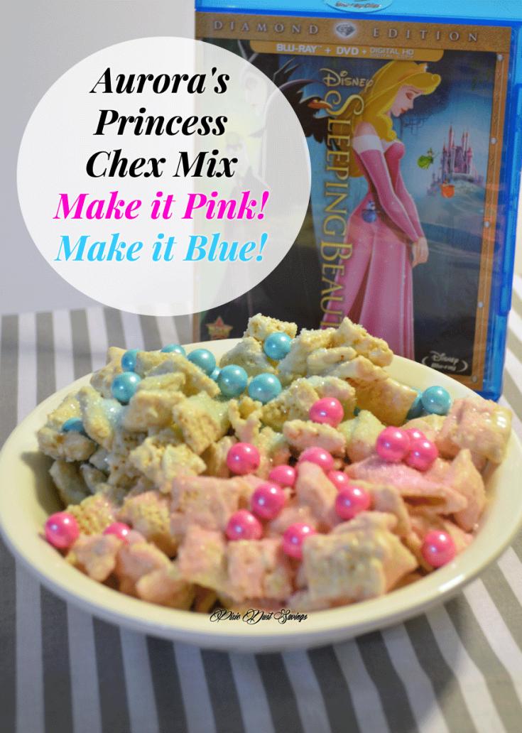 Aurora's Princess Chex Mix | Make it Pink! Make it Blue!