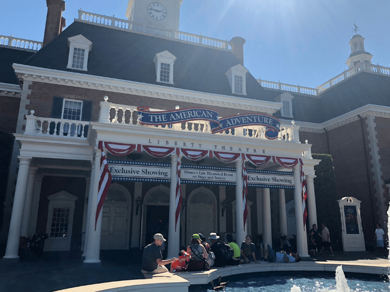 Disney world american adventure