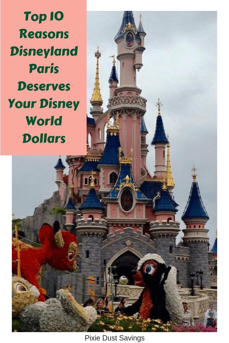 Reasons to Visit Disneyland Paris