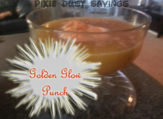 Golden Glow Punch