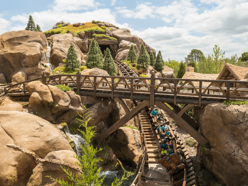 Disney World Thrill Rides Mine Train