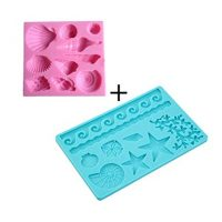 Sea Life Silicone Mold for Fondant Chocolate Sugar Craft