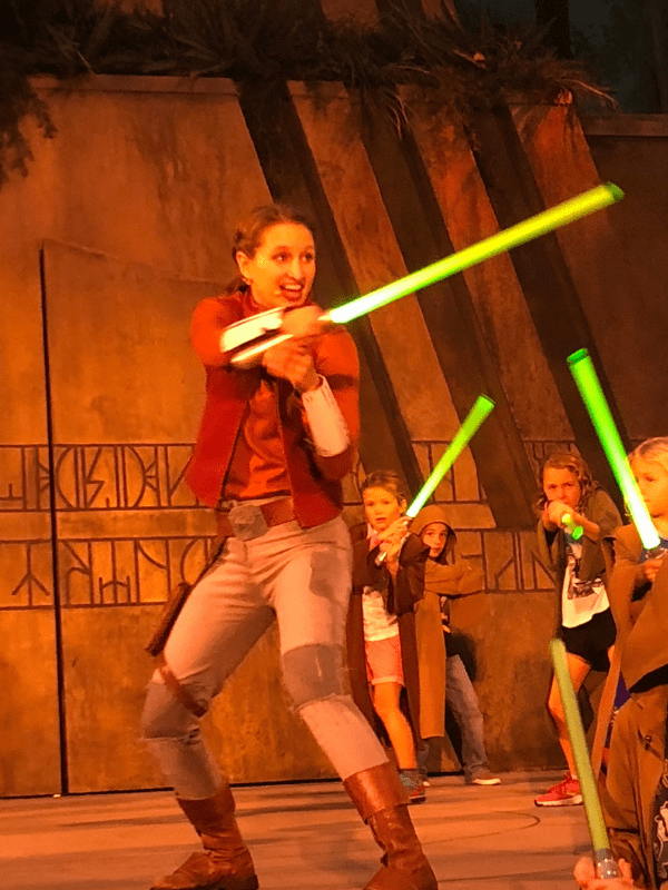 Disney World Jedi Training