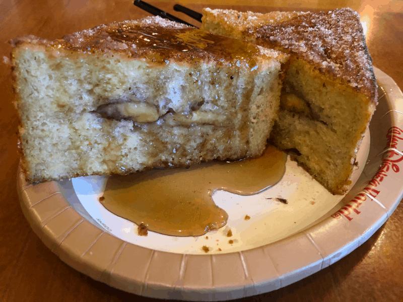 Tonga Toast at Captain Cooks