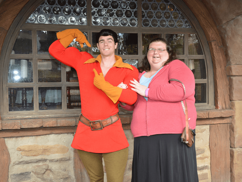 Gaston at the Magic kingdom
