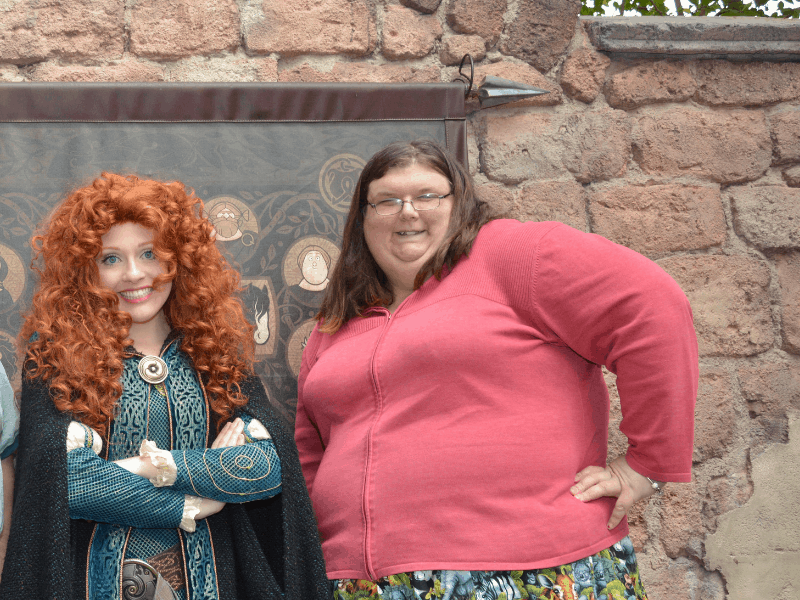merida at the Magic kingdom