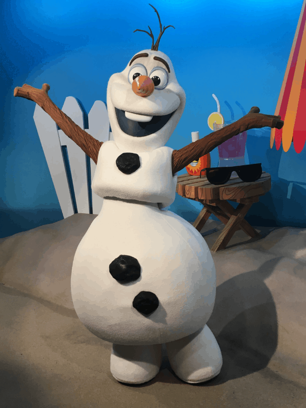 olaf at hollywood studios