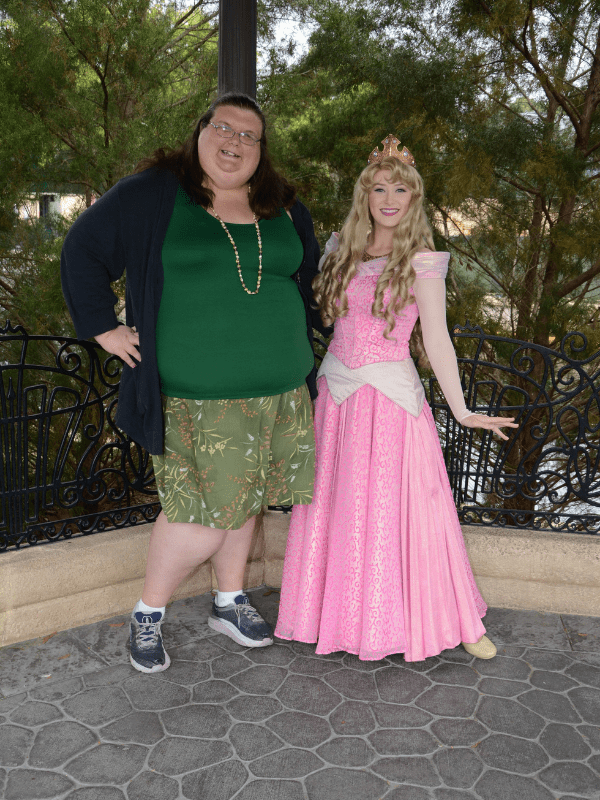 Sleeping Beauty at Epcot