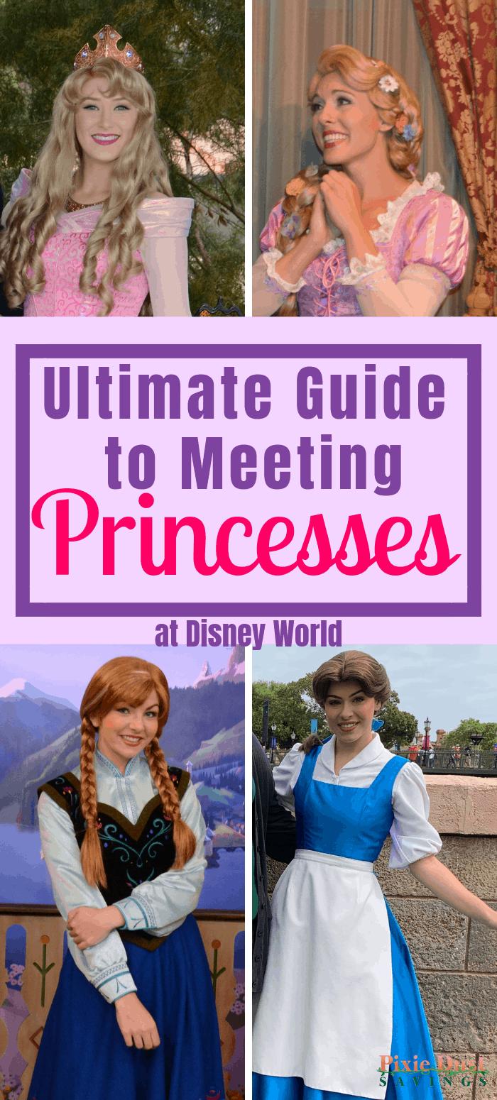 Guide to Meeting Princesses at WDW