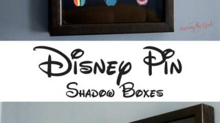 Disney Pin Board | How To Make A Collector Pin Shadow Box