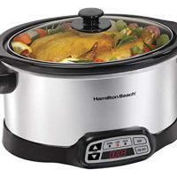 Hamilton Beach Programmable Slow Cooker,  6-Quart