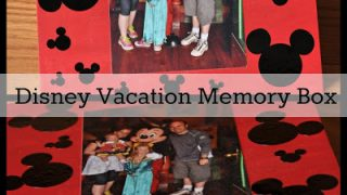 Disney Vacation Memory Box